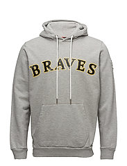 S-BRAVES SWEAT-SHIRT - LIGHT GREY MELANGE