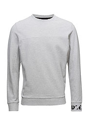 S-SHAMP SWEAT-SHIRT - GREY LIGHT MELANGE