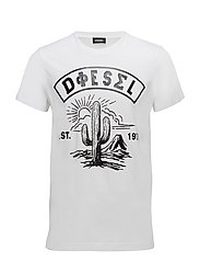 T-DIEGO-SM T-SHIRT - BRIGHT WHITE