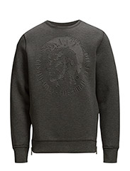 S-VEROK SWEAT-SHIRT - DARK GREY MELANGE