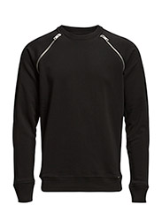 S-BLACK SWEAT-SHIRT - BLACK