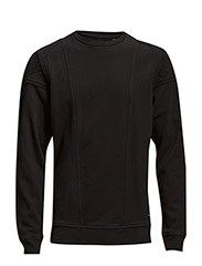 S-KAWA SWEAT-SHIRT - BLACK