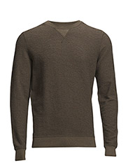 P-LISSE-A SWEAT-SHIRT - VERDE MELANGE
