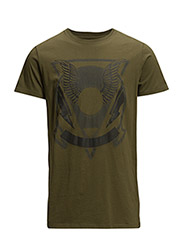 T-CLAR T-SHIRT - OLIVE NIGHT
