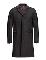 J-CROW OVERCOAT - GREY