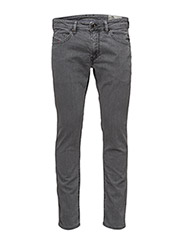 THOMMER L.32 TROUSERS - BLACK/DENIM