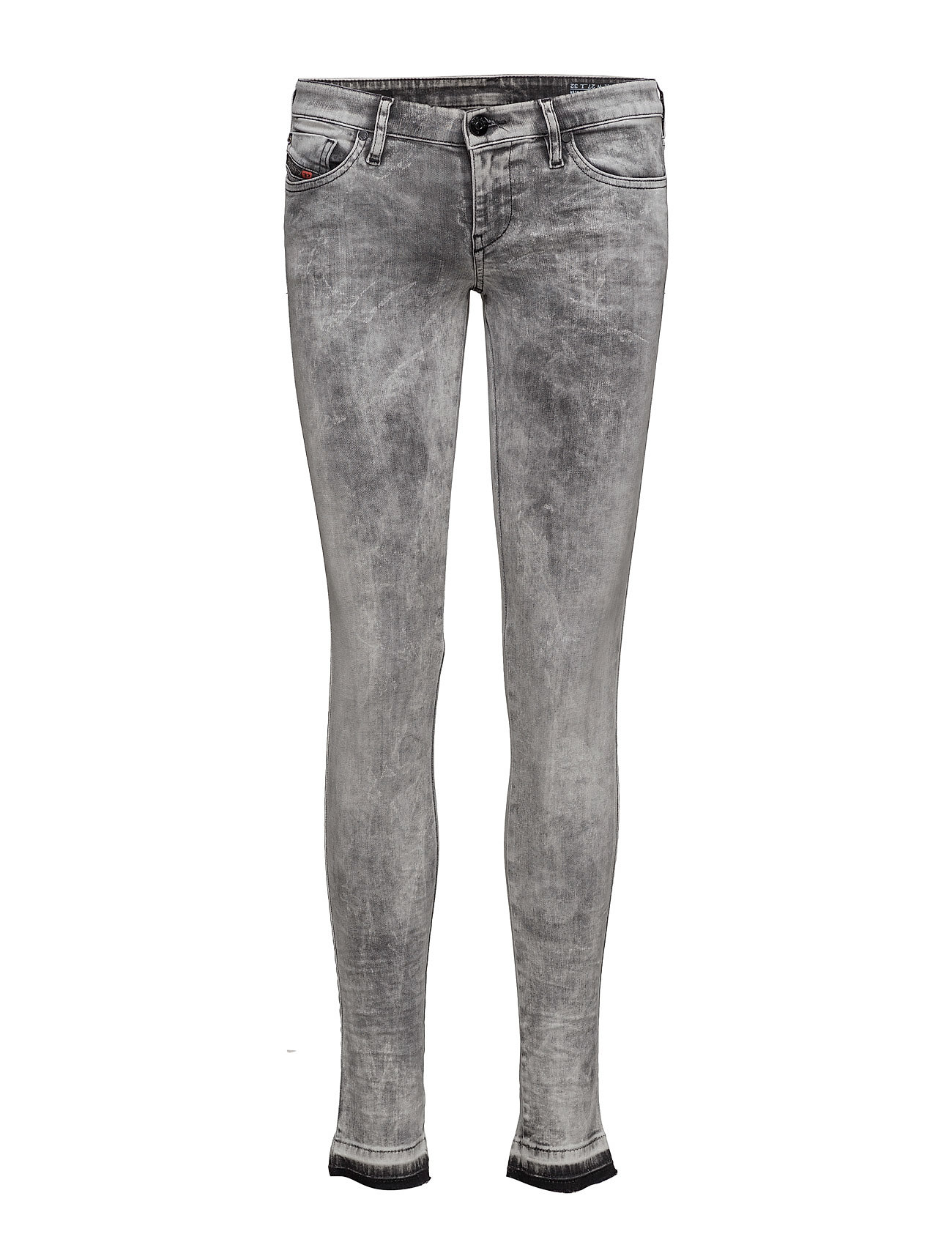 Skinzee-Low L.32 Trousers Diesel Women Skinny til Damer i