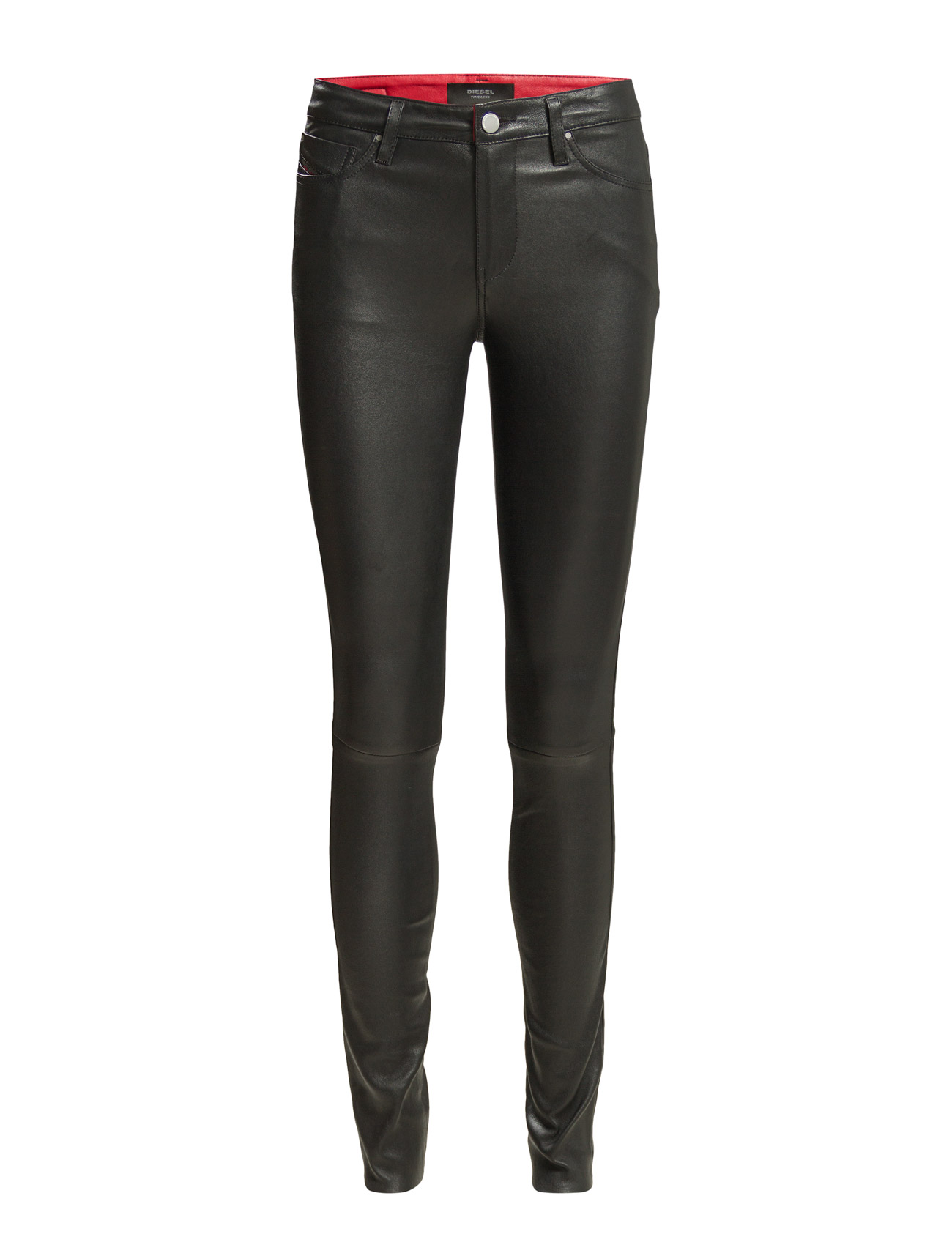 L-Skim Trousers Diesel Women  til Damer i Sort