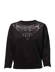 F-RUFF-B SWEAT-SHIRT - BLACK