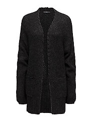 M-SHAPY CARDIGAN - BLACK