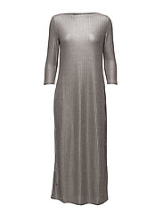 D-VERONY DRESS - SILVER/GREY