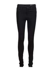 SKINZEE-HIGH L.32 TROUSERS - DENIM