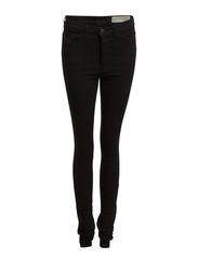 SKINZEE-HIGH L.34 TROUSERS - BLACK/DENIM