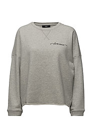 F-GERTRUDE-NEW SWEAT-SHIRT - LIGHT GREY MELANGE