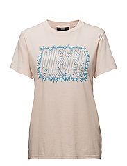 T-SILY-N T-SHIRT - SILVER PEONY