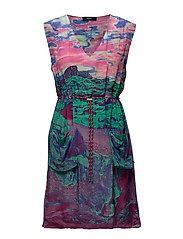 D-CHAD-A DRESS - MULTICOLORED