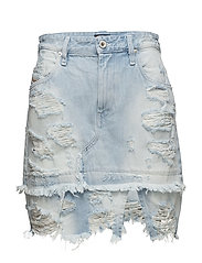DE-MIXY SKIRT - DENIM