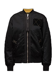 G-WEST-FL JACKET - BLACK