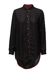 C-ARYA SHIRT - BLACK