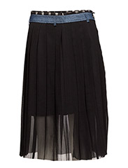 O-LILIA SKIRT - BLACK