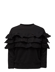 F-RUFF SWEAT-SHIRT - BLACK