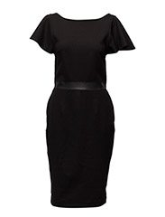 D-SONAL DRESS - BLACK