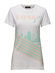 T-SULLY-LONG-F T-SHIRT - BRIGHT WHITE