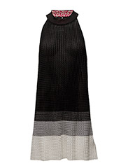 M-SOUTH DRESS - BLACK