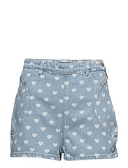 DE-QUB SHORTS - DENIM