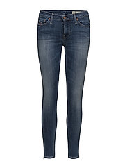 SKINZEE-ZIP L.32 TROUSERS - DENIM