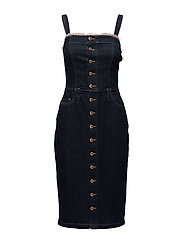 DE-EDDIE DRESS - DENIM