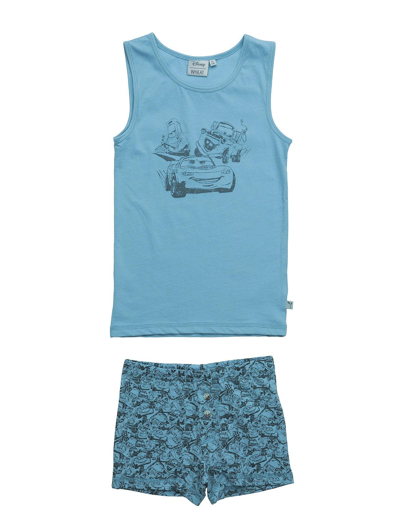 Boy Underwear Cars Disney by Wheat Undertøj til Børn i Ashley Blå