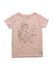T-Shirt Belle Roses - POWDER