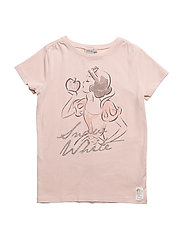 T-Shirt Snow White Rhinestones - POWDER