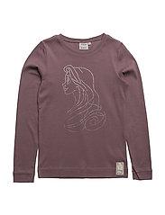 T-Shirt Rapunzel Rhinestones - LAVENDER