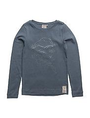 T-Shirt Elsa Rhinestones - BLUE MIRAGE