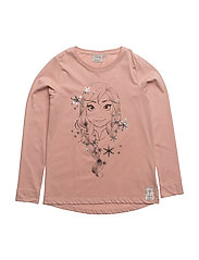 T-Shirt Anna Snowflakes - MISTY ROSE