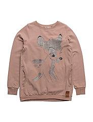 Sweatshirt Bambi Glitter - FAWN