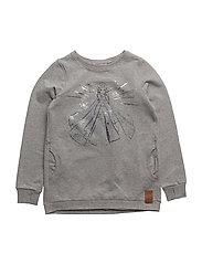 Sweatshirt Elsa Ice - MELANGE GREY