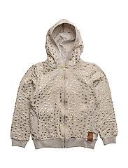 Sweatshirt Zip Belle - KIT MELANGE