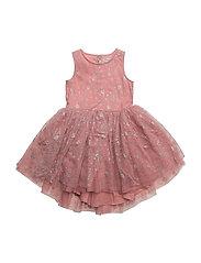 Dress Tulle Frozen - PEACH ROSE
