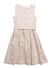 Dress Bow Snow White - POWDER
