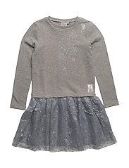 Sweat Dress Tulle Frozen - DOVE