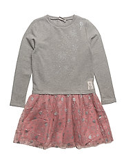 Sweat Dress Tulle Frozen - PEACH ROSE
