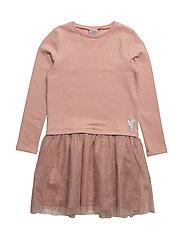 Sweat Dress Tulle Tinker Bell - MISTY ROSE