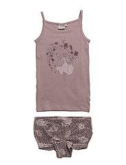 Girls Underwear Rapunzel - DUSTY LILAC
