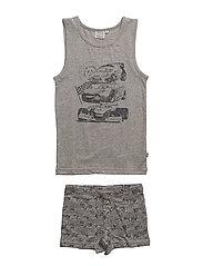Underwear Cars - MELANGE GREY