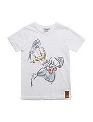 T-Shirt Donald Duck - WHITE