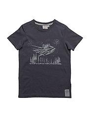 T-Shirt Planes Dusty - GREYBLUE