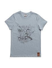 T-Shirt Four Spiderman - SKY